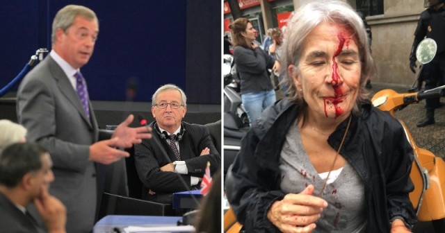 Nigel Farage Explodes In EU Parliament, Condemns Silence On Shocking Brutality In Catalonia